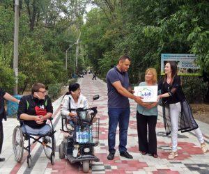 Первый в Мелитополе знак отличия «Заклад, дружній до всіх» получил Парк культуры и отдыха
